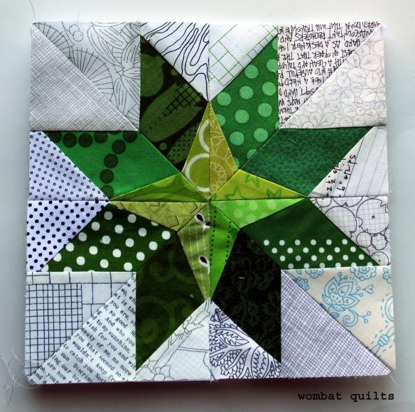 8 inch paper pieced star