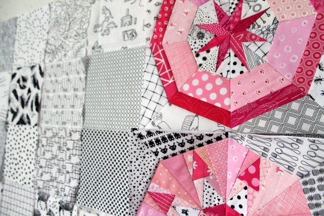 baby quilt wip