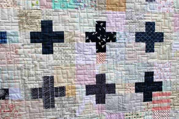 do good stitches cross quilt detail