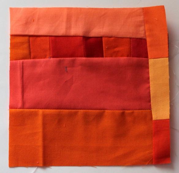 improv orange block