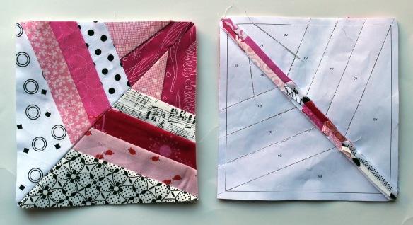 pink block pieces