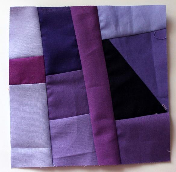 purple improv block