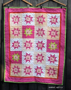 Gnome star quilt