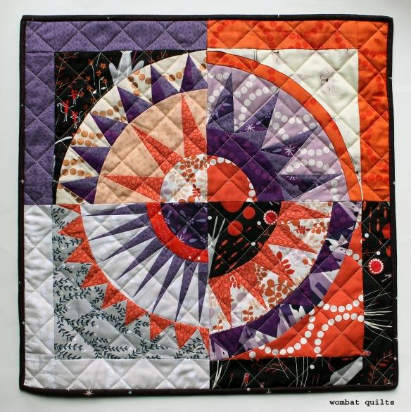 lizzy house NY beauty mini quilt