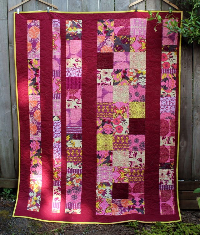 Sew Day quilt back