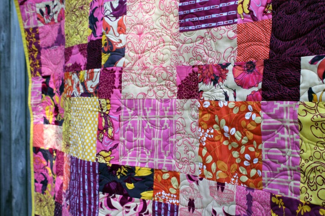 sew day quilt detail