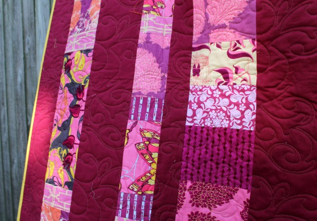 sew day quilting detail