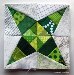 free pape pieced pattern