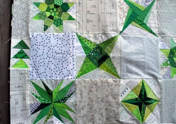 green star detail