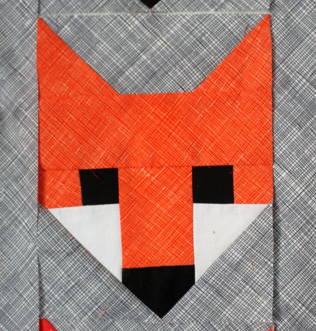 orange foxes