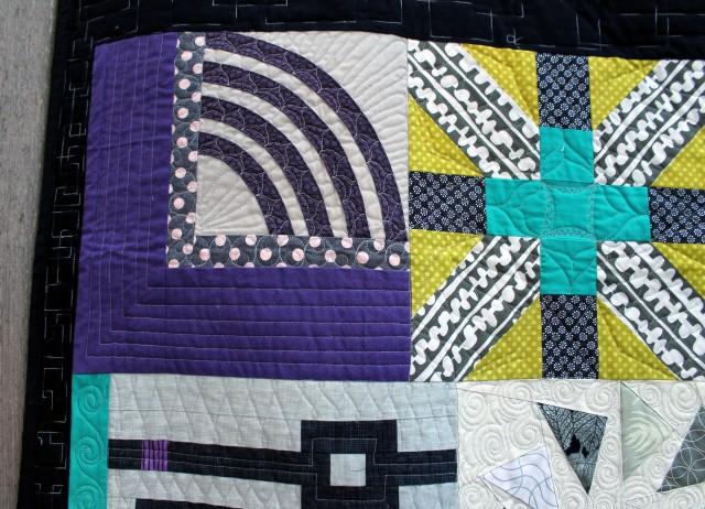 edge quilt detail
