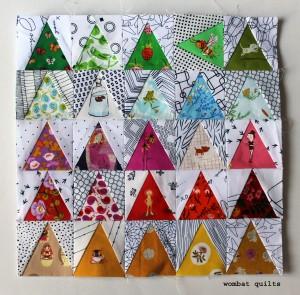 Mini Quilt Patterns | WOMBAT QUILTS
