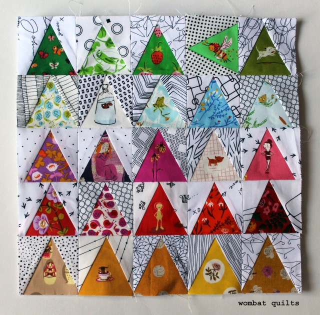 heather ross mini quilt