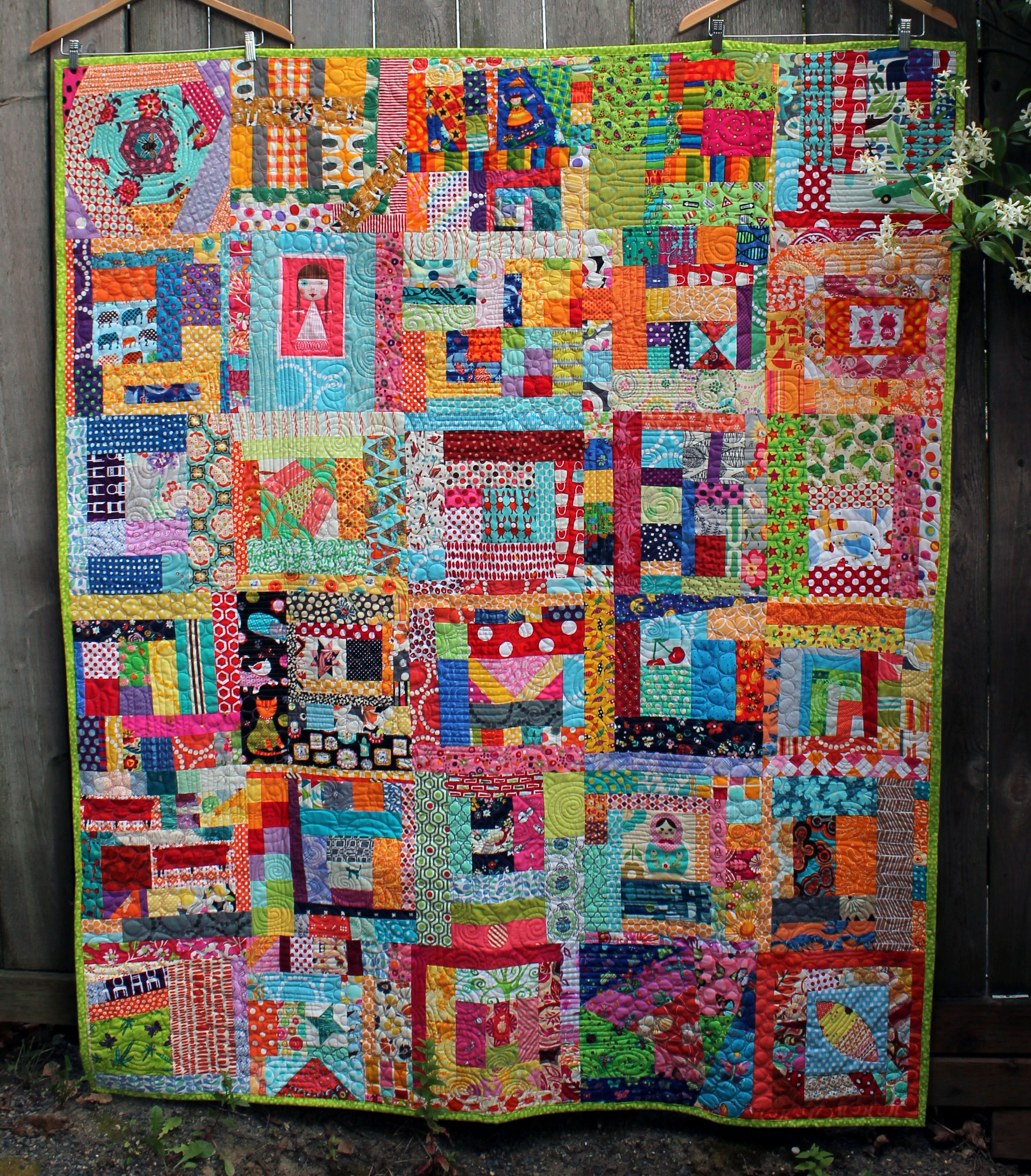 Kelly S Quilt In The Spotlight Wombat Quilts Bloglovin
