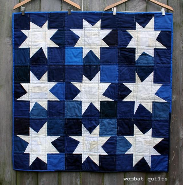 white star quilt