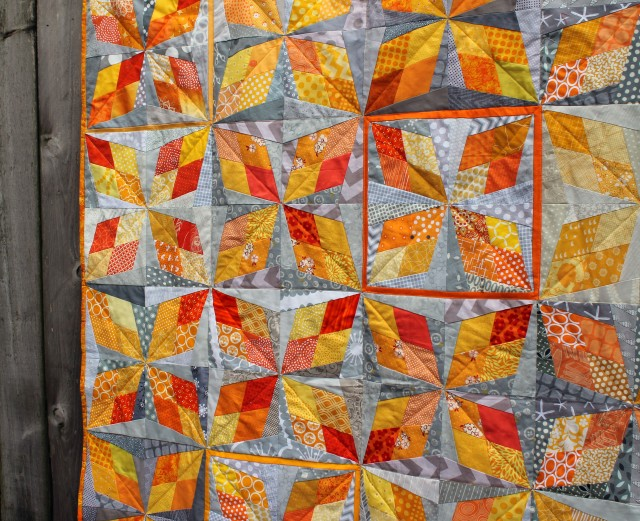 arkansas traveller quilt detail