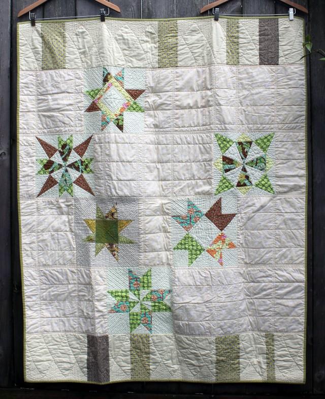 orphan star quilt