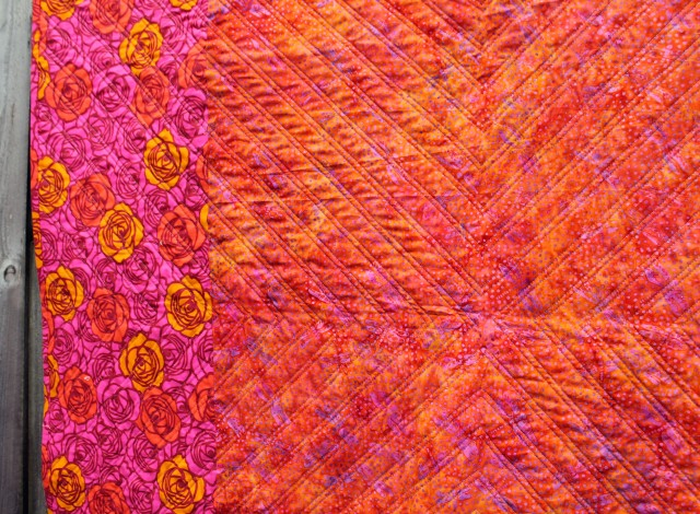 small quilting detail