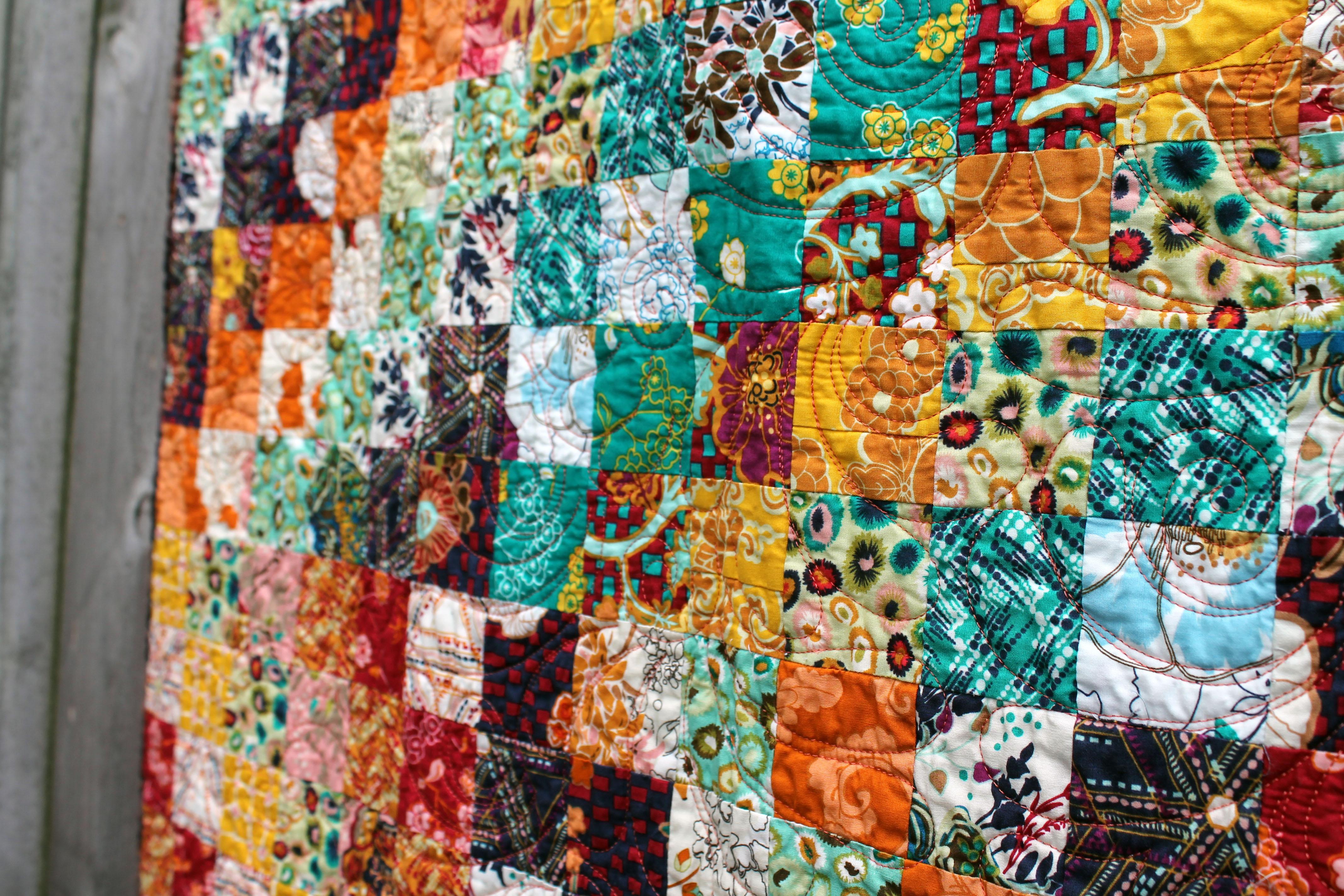 trip around quilt detail 3