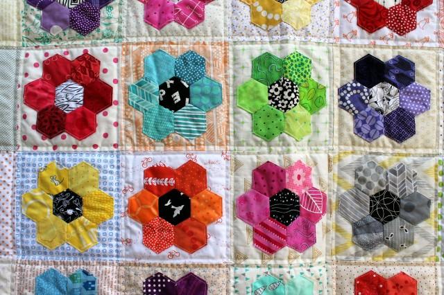 hexi flower detail