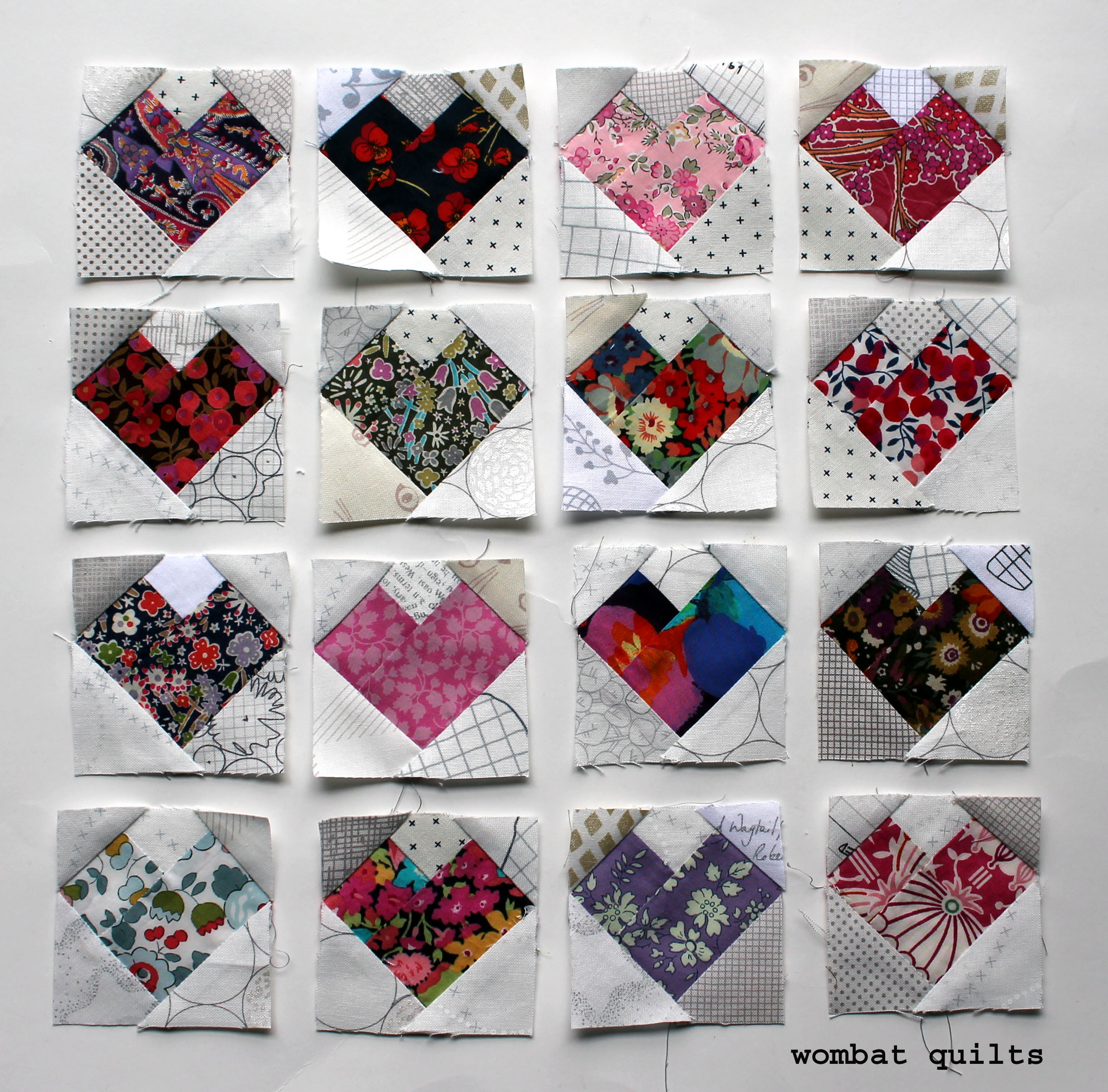 Free Foundation Piecing Pattern Wombat Quilts