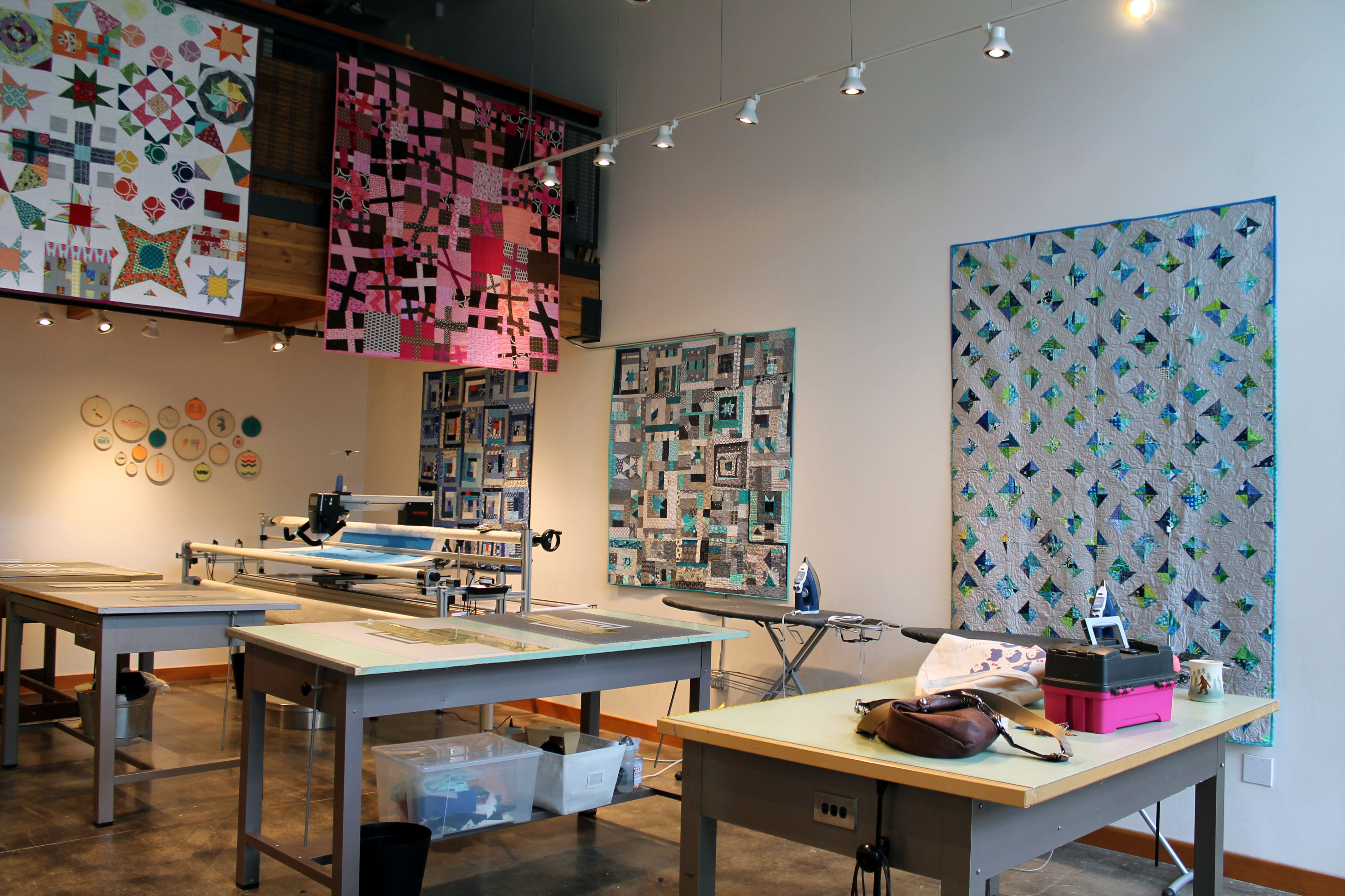 quilts on display 7