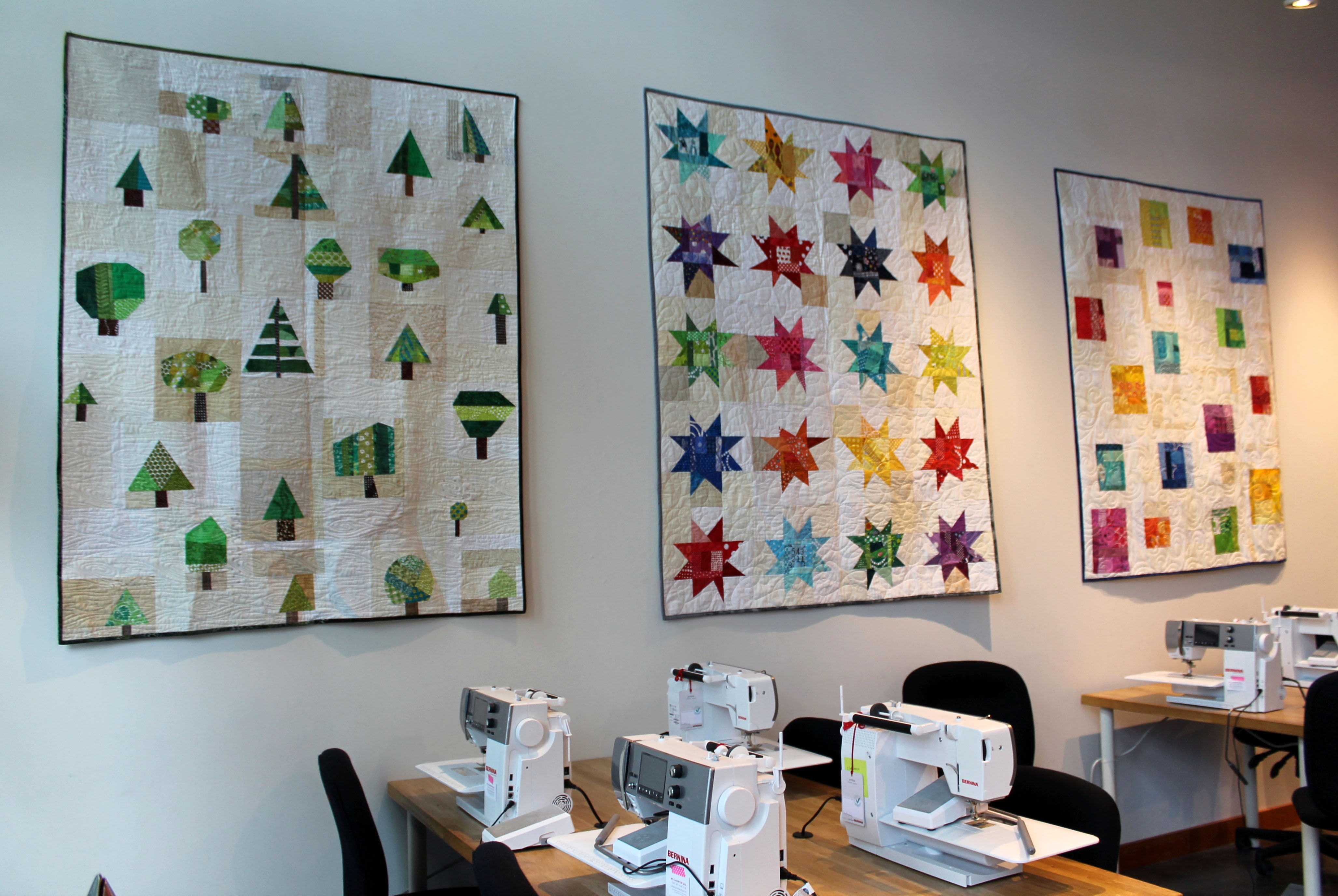 quilts on display 8