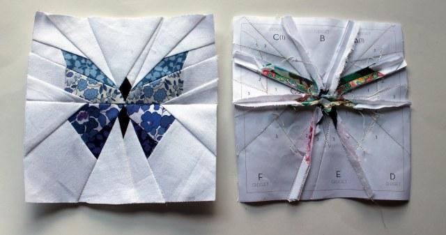 butterfly block detail