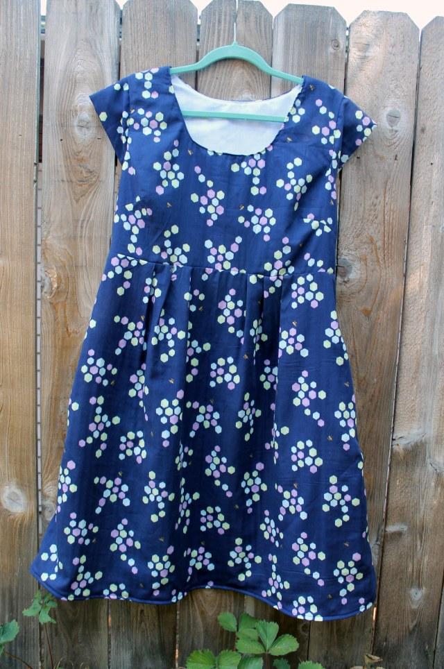 double gauze washi dress