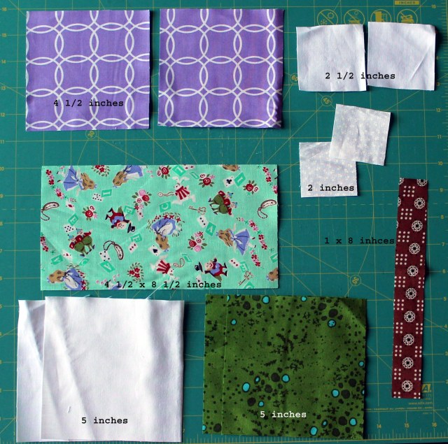 fabric for one block