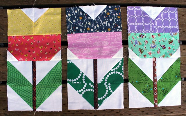 finihsed flower blocks