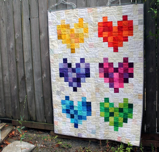 my pulse quilt