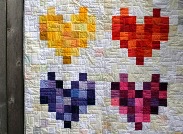quilt for pulse detail