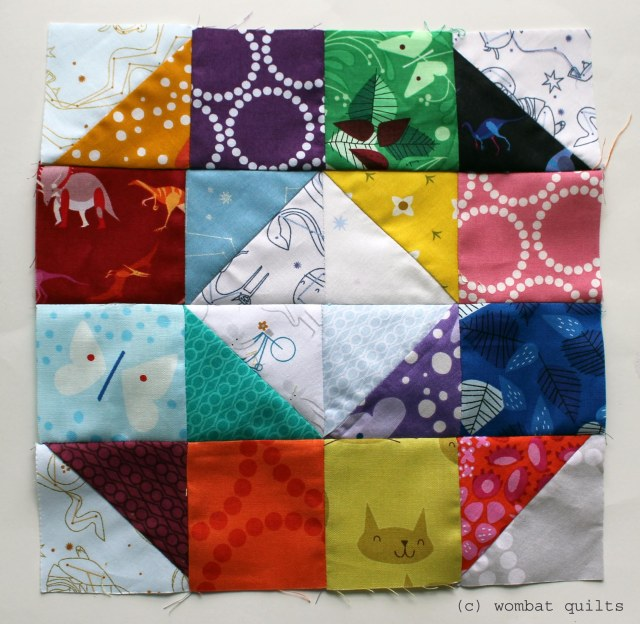 lizzy house quilt block