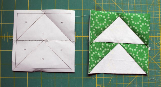 paper piecing option