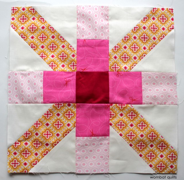 Flag day block