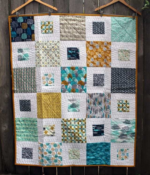 easy simple kids quilt