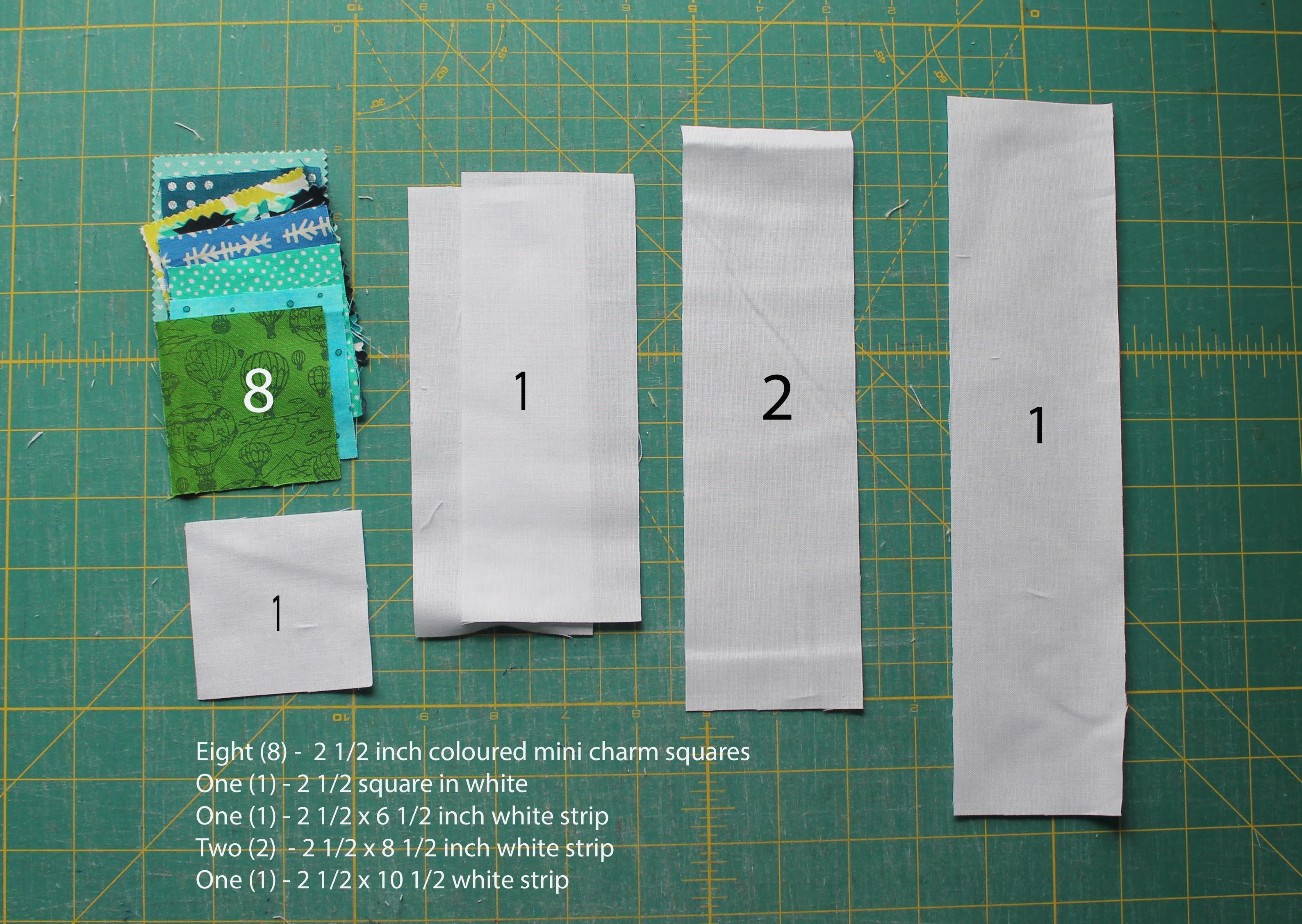 block 2 cut instructions