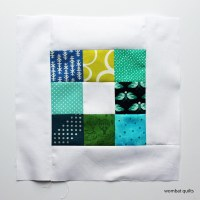 Mini Charm Square block
