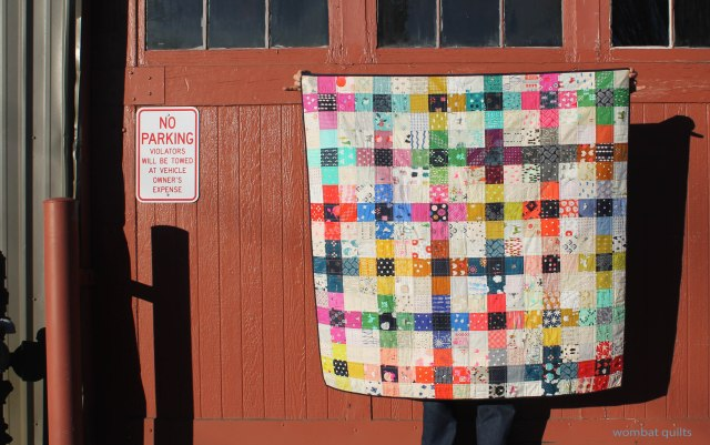 cotton steel cross quilt