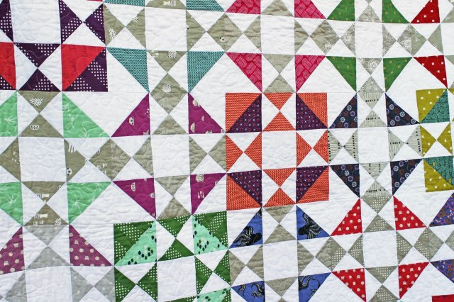 Cotton steel quilt