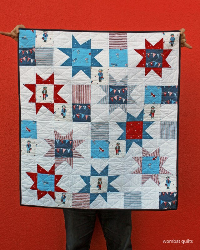 finished Aviation quilt