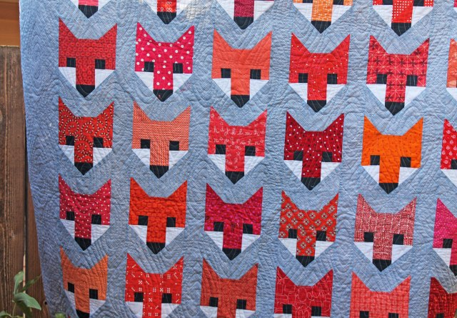 fox quilt detail 2