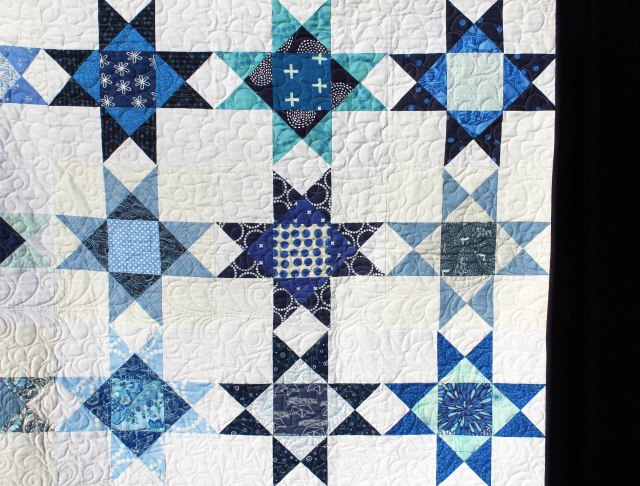 ohio star quilt detail