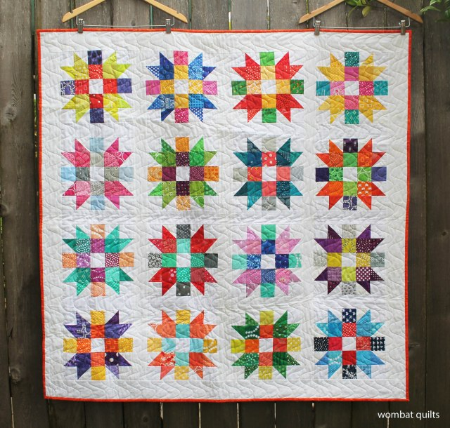 finished scrap quilt