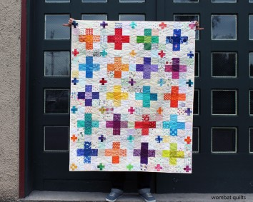 Cross plus quilt