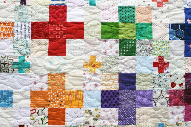 double cross quilting