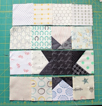 sewing block together