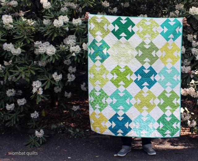 DGS green quilt