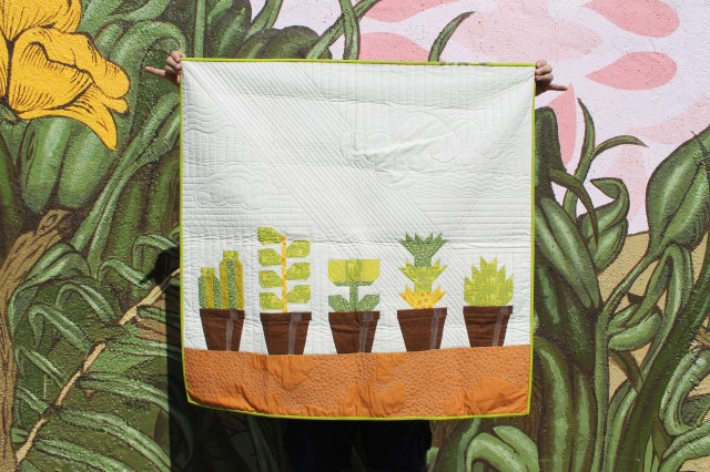 Potted plant quilt